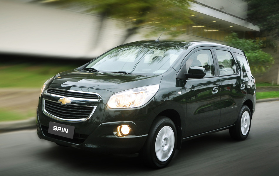 Chevrolet Spin LT começa em R$ 44.590