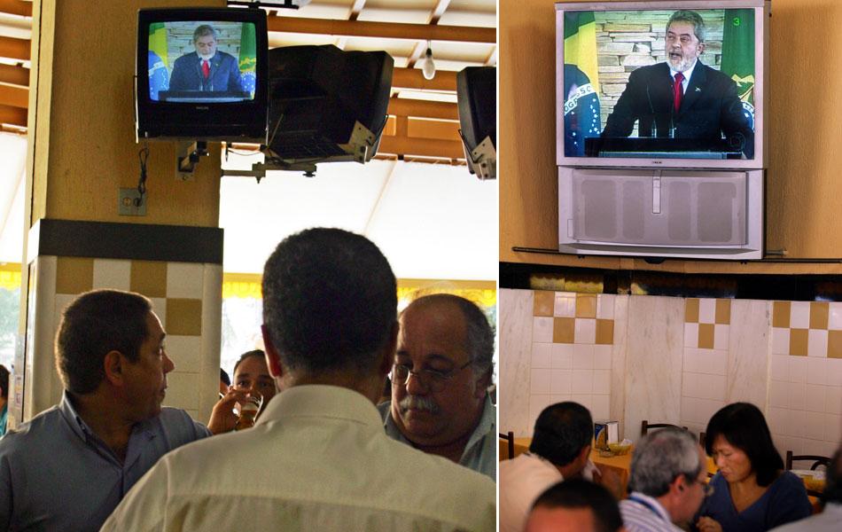 Em 12 de agosto de 2005, o presidente fala em discurso televisionado à população e afirma que 'o PT tem que pedir desculpas. O governo, onde errou, tem que pedir desculpas', atribuindo ao partido apenas o crime 'menor' de formação de caixa 2 em campanha.