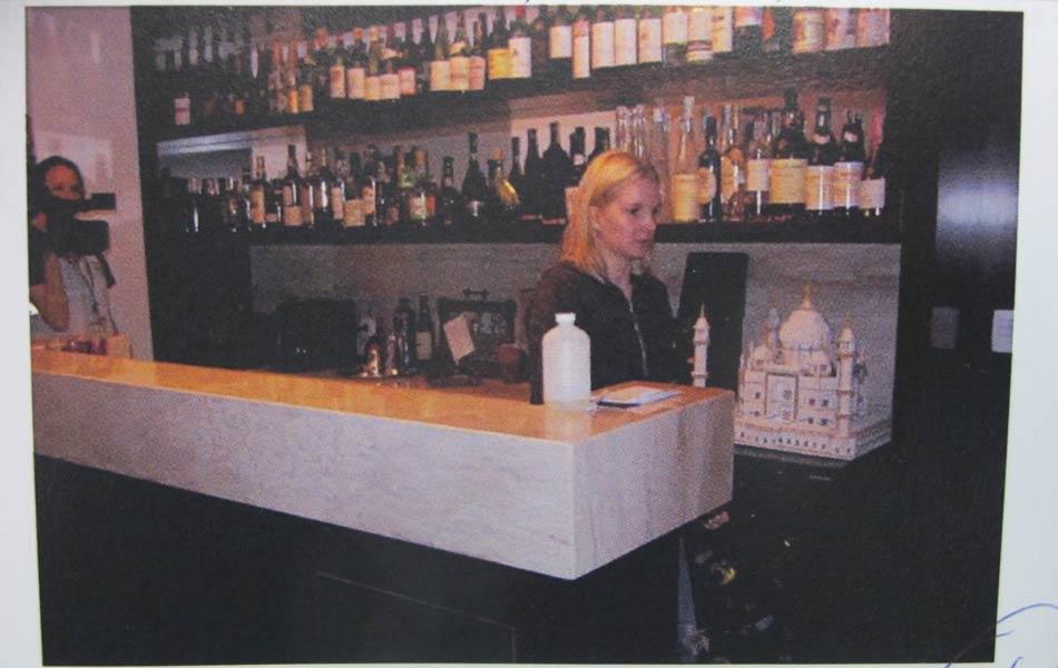 """Laudo: """"Elize passa pelo bar"""", conforme o laudo."""
