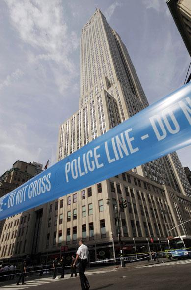Área do tiroteio é isolada pela polícia
