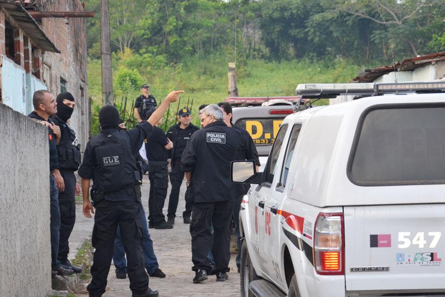 Operação Liberdade começou na madrugada desta sexta-feira (31) em João Pessoa e Bayeux