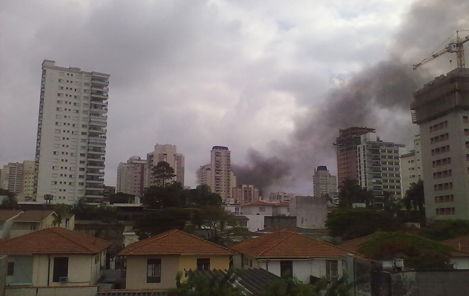 Hermerson fez as imagens do Campo Belo, Zona Sul de São Paulo