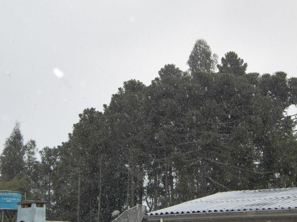 Queda de neve em Bom Jesus, RS