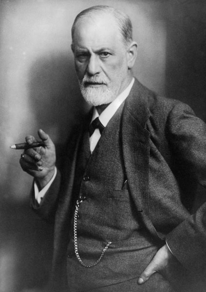 Sigmund Freud, considerado o pai da psicanálise