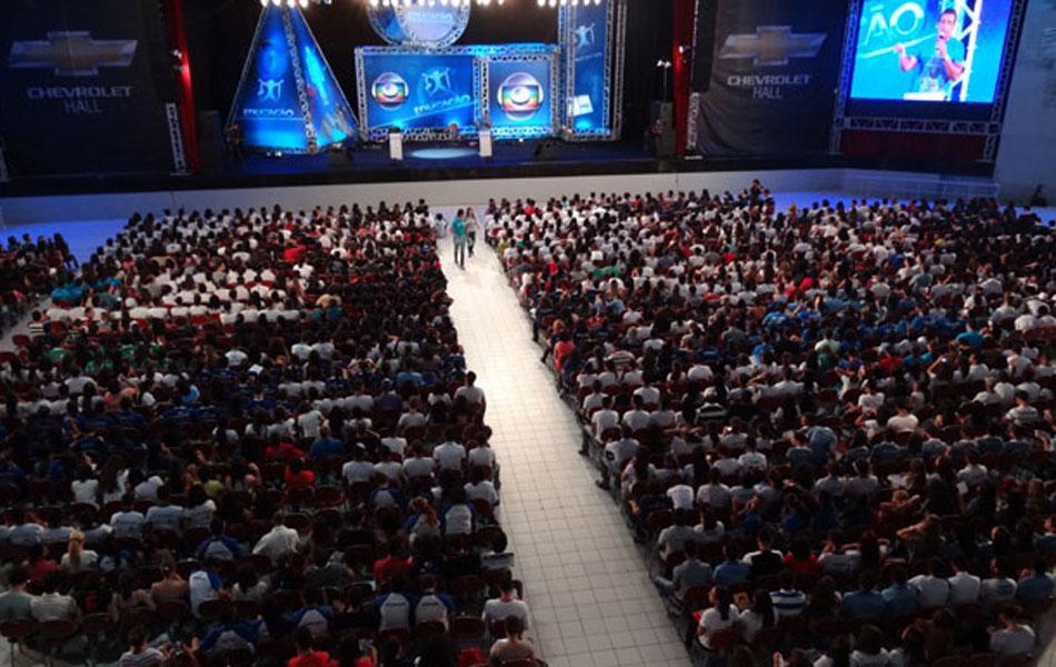EducaçãComeça o aulão do Contagem Regressiva no Chevrolet Hall.