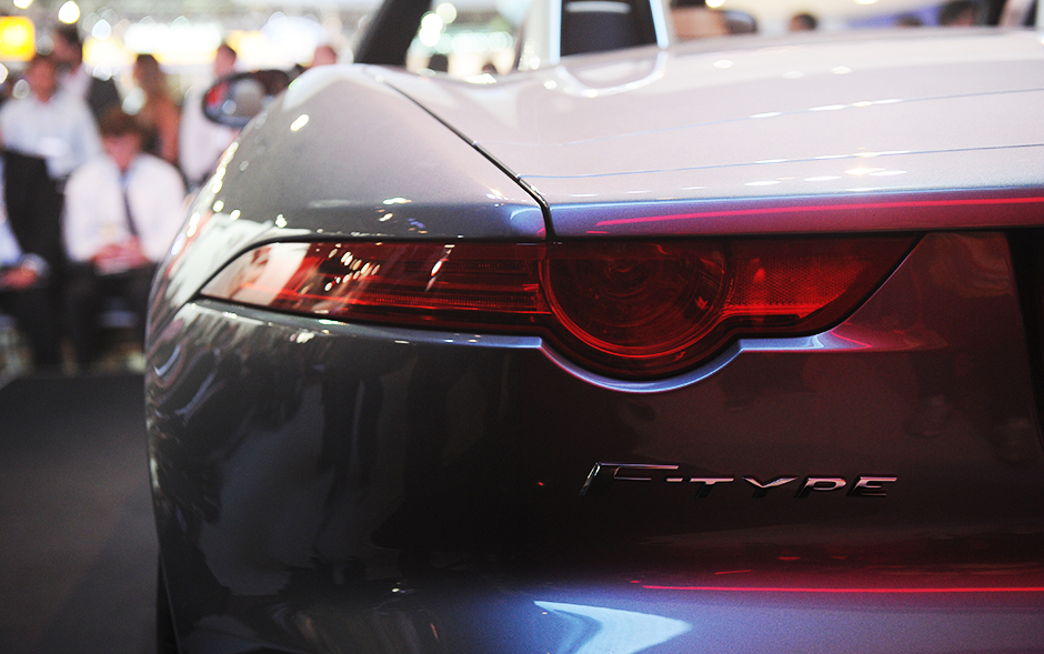 Detalhe do Jaguar F Type