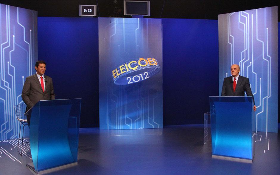 Haddad e Serra se enfrentam no último debate antes do 2º turno da eleição do novo prefeito de São Paulo