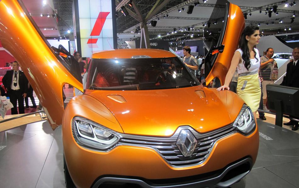 26 de outubro - conceitos do Salão: Renault Captur