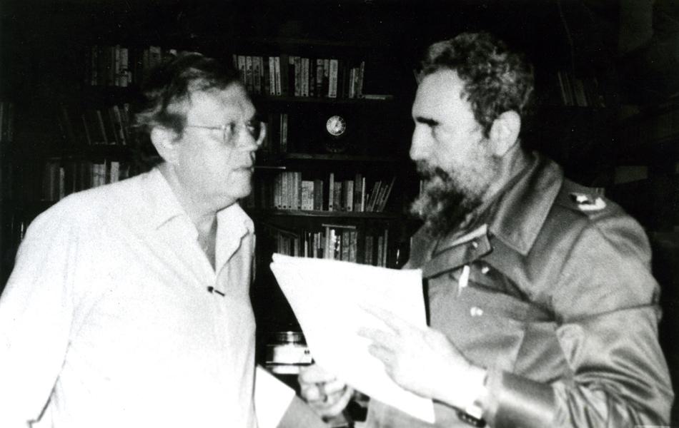 Em 1985 Joelmir Beting entrevistou o líder cubano Fidel Castro.