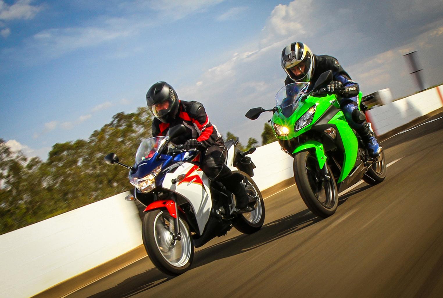 Honda CBR 250R e Kawasaki Ninja 300