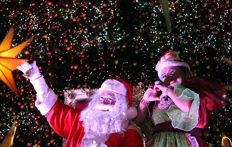 Papai Noel chegou em Manaus neste domingo (2)
