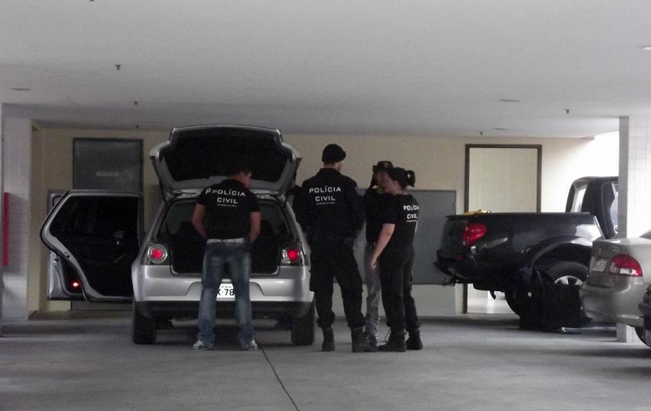 Policiais cumpriram mandados de prisão e busca e apreensão em imóveis e escritórios suspeitos de participação no esquema