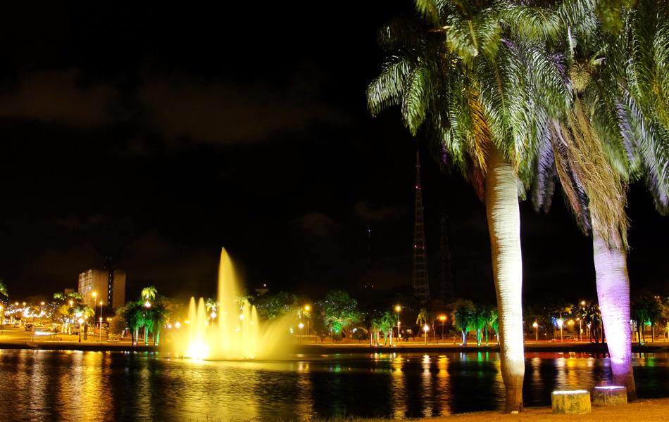 O Parque Solon de Lucena recebeu novas cores em volta da Lagoa