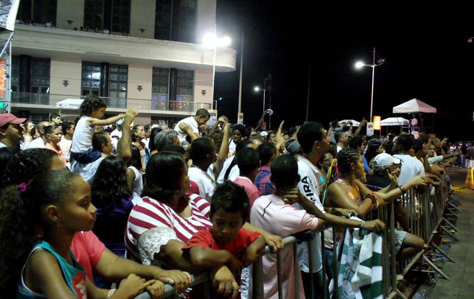 Crianças marcam presença na festa do Farol da Barra