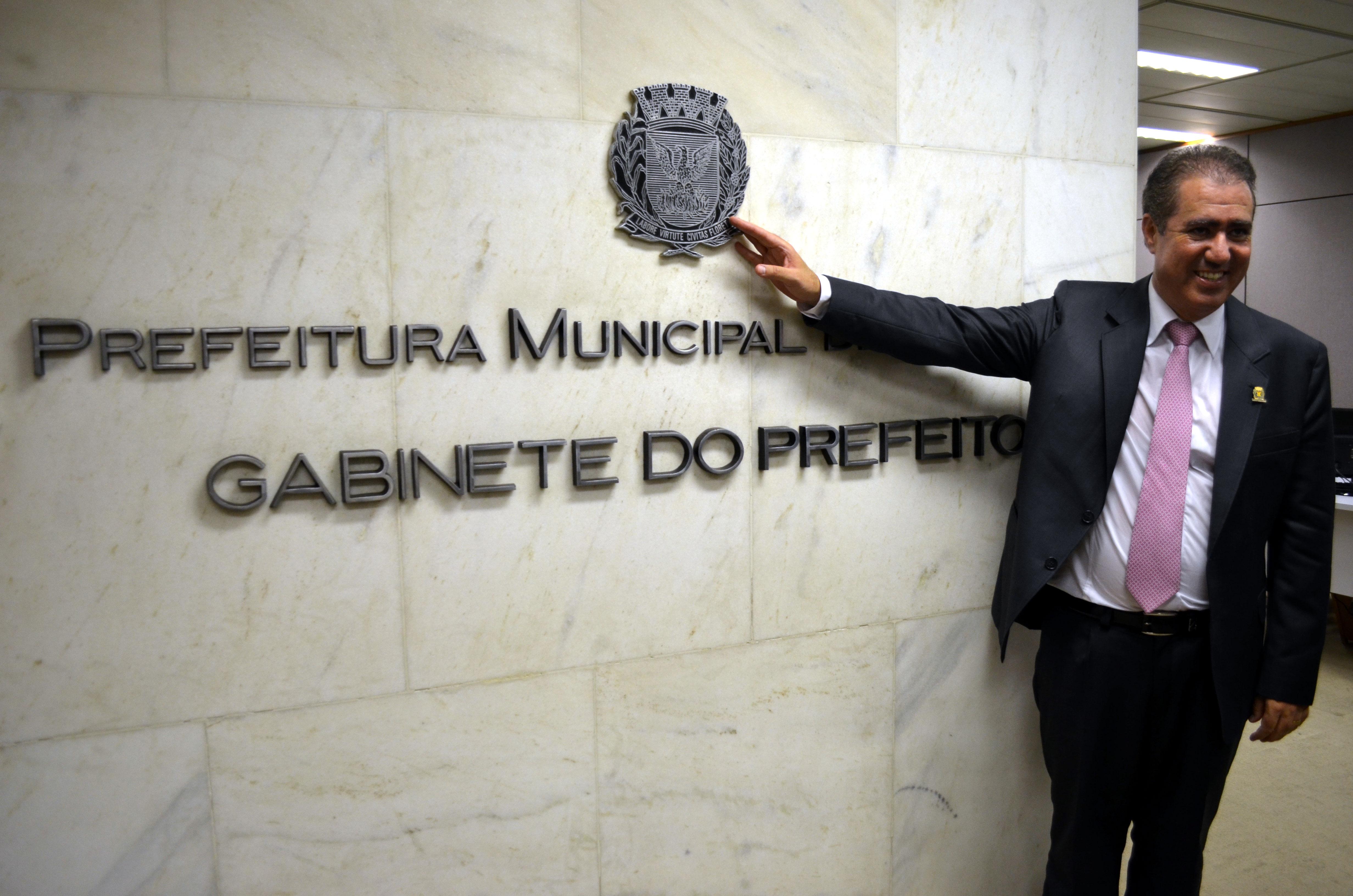 Prefeito eleito de Campinas (SP), Jonas Donizette (PSB), Palácio dos Jequitibás, em Campinas
