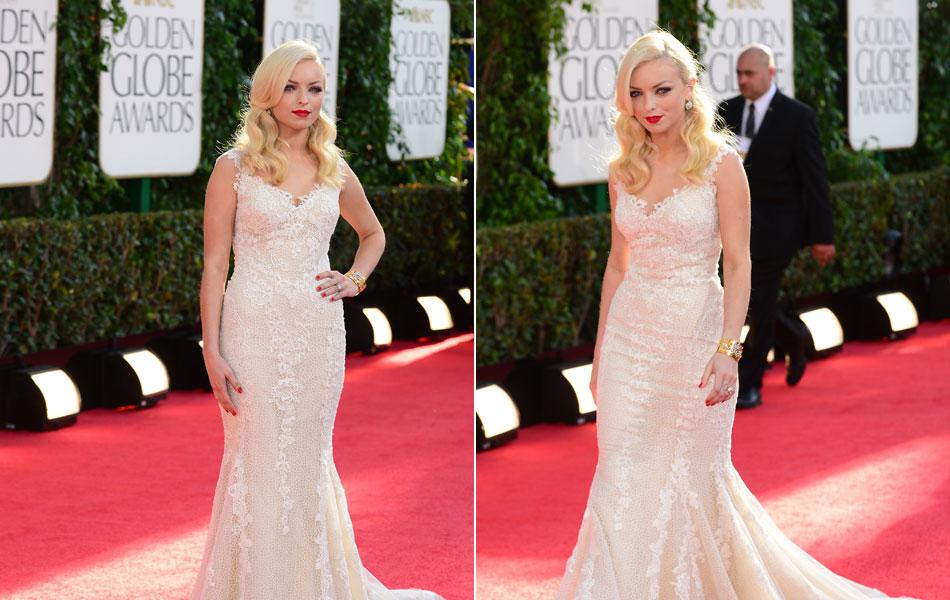 Miss Globo de Ouro 2013, a atriz Francesca Eastwood é filha ex-casal de atores Clint Eastwood e Frances Fisher