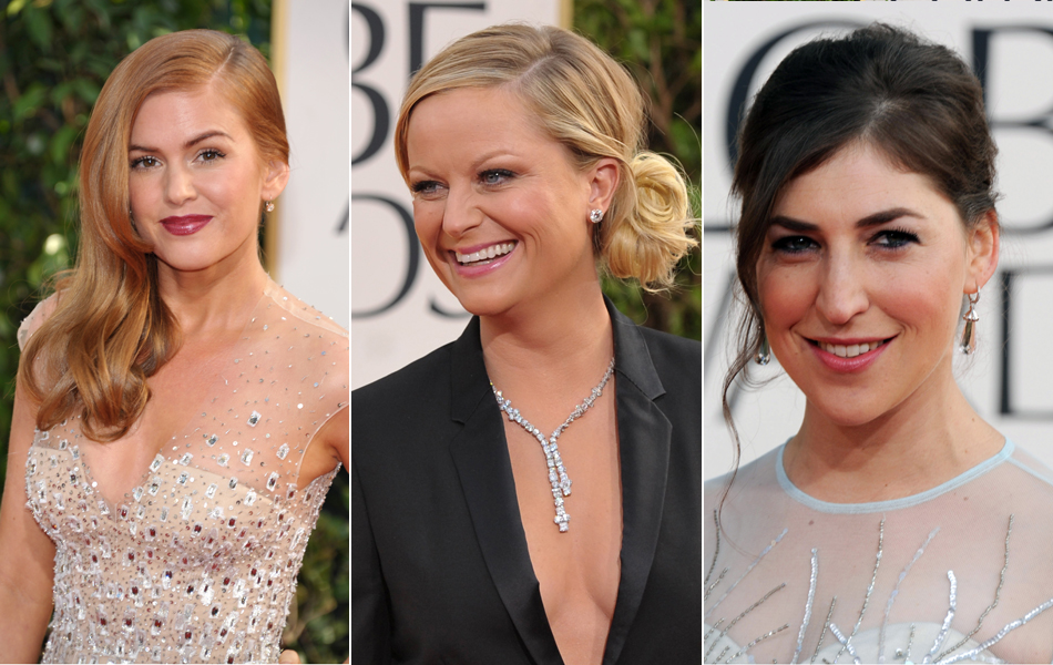 Isla Fisher, Amy Poehler e Mayim Bialik, de 'The big bang theory'