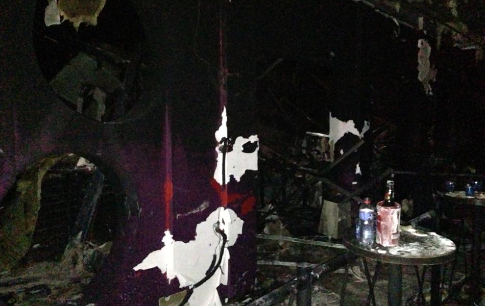 27 de janeiro - Foto mostra interior da boate Kiss após incêndio; tragédia em Santa Maria deixou mais de 200 mortos
