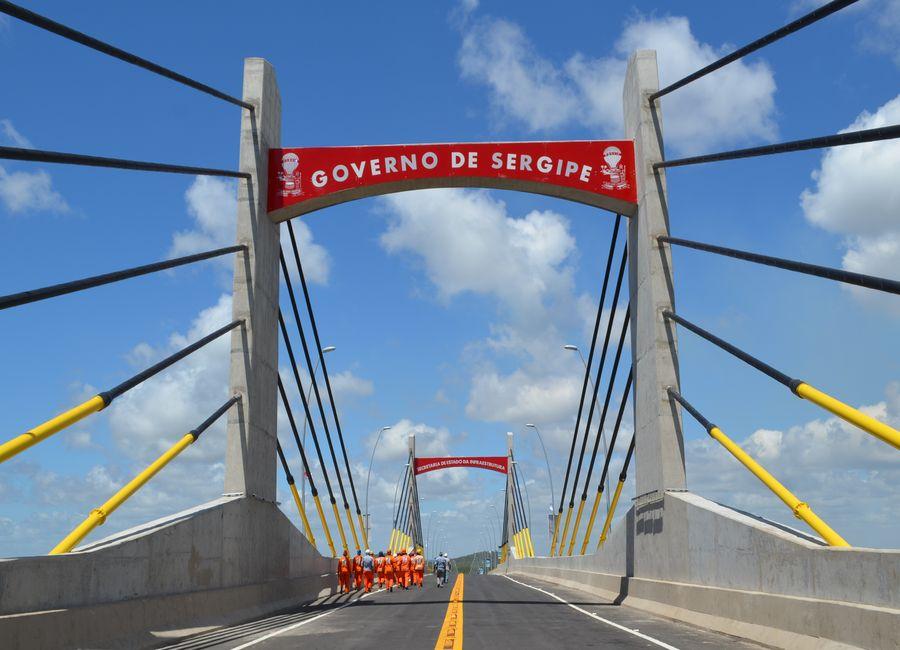 Ponte Gilberto Amado vai diminuir 70 quilômetros de distância entre Aracaju e Salvador