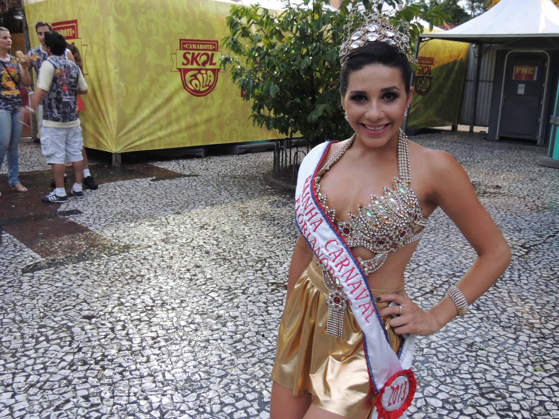 Rainha do carnaval de Florianólis