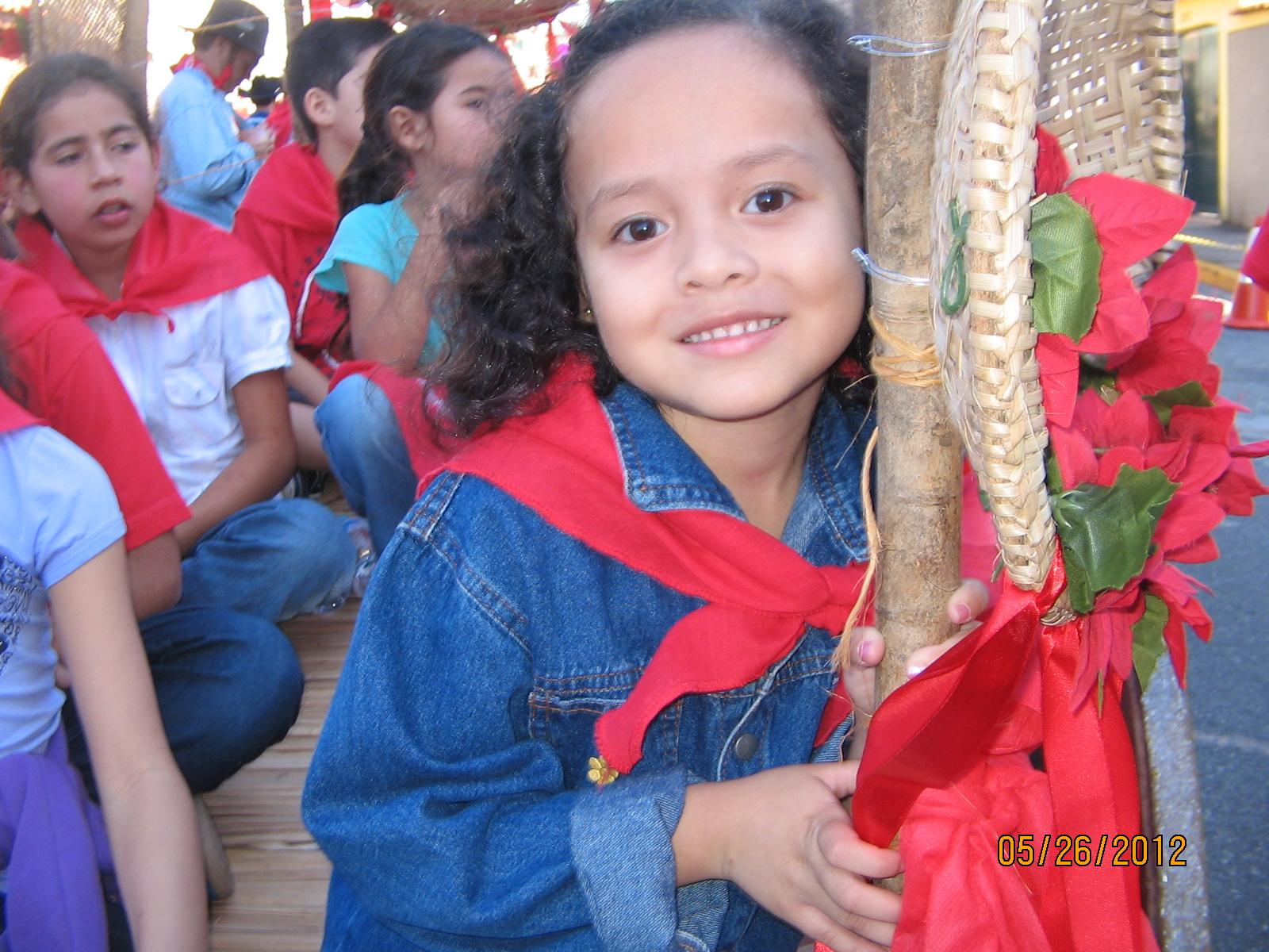 Maria Eduarda participa de Entrada dos Palmitos, em Mogi das Cruzes.