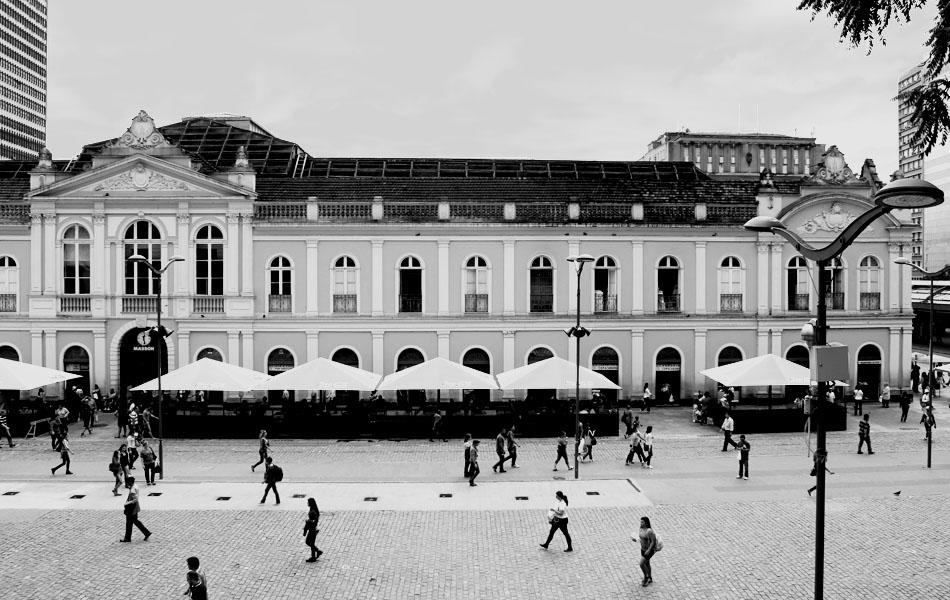 O Mercado Público Central de Porto Alegre é patrimônio histórico e cultural, foto tirada em 2013