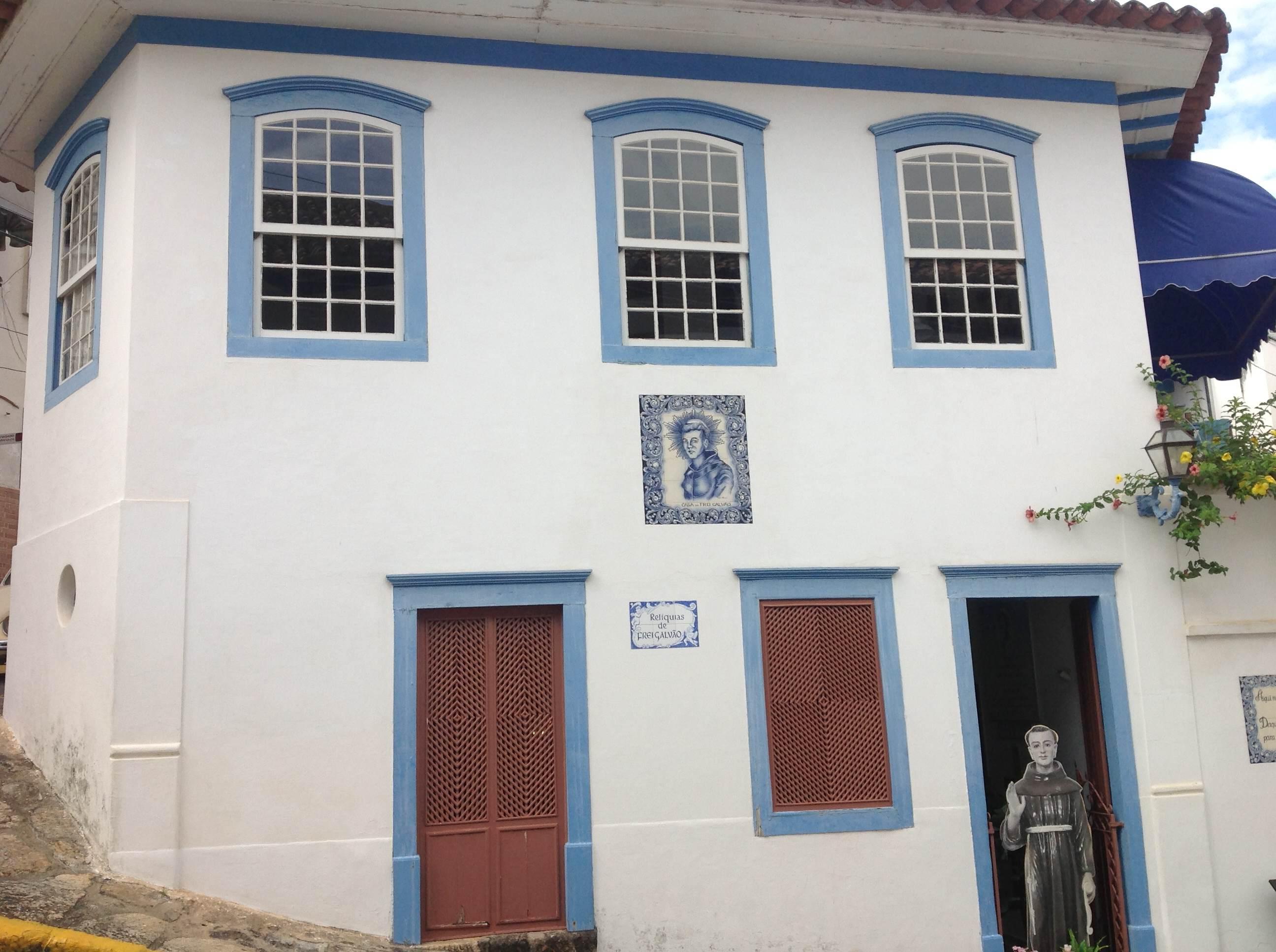 Casa onde nasceu Frei Galvão, em Guaratinguetá, SP