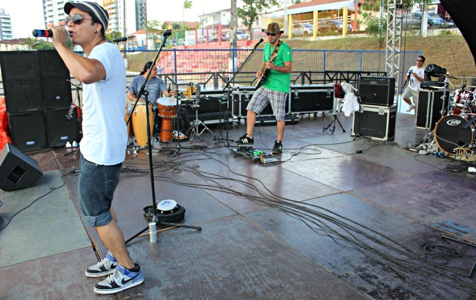 Os Tucumanus foi uma das 15 atrações musicais do evento