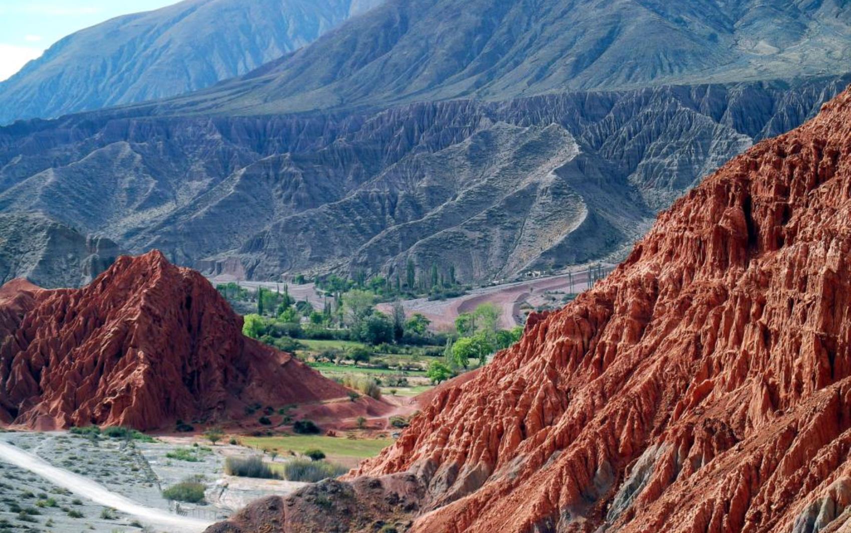 Leitora fez expedição pela América do Sul e passou pela Quebrada de Humahuaca, na Argentina.