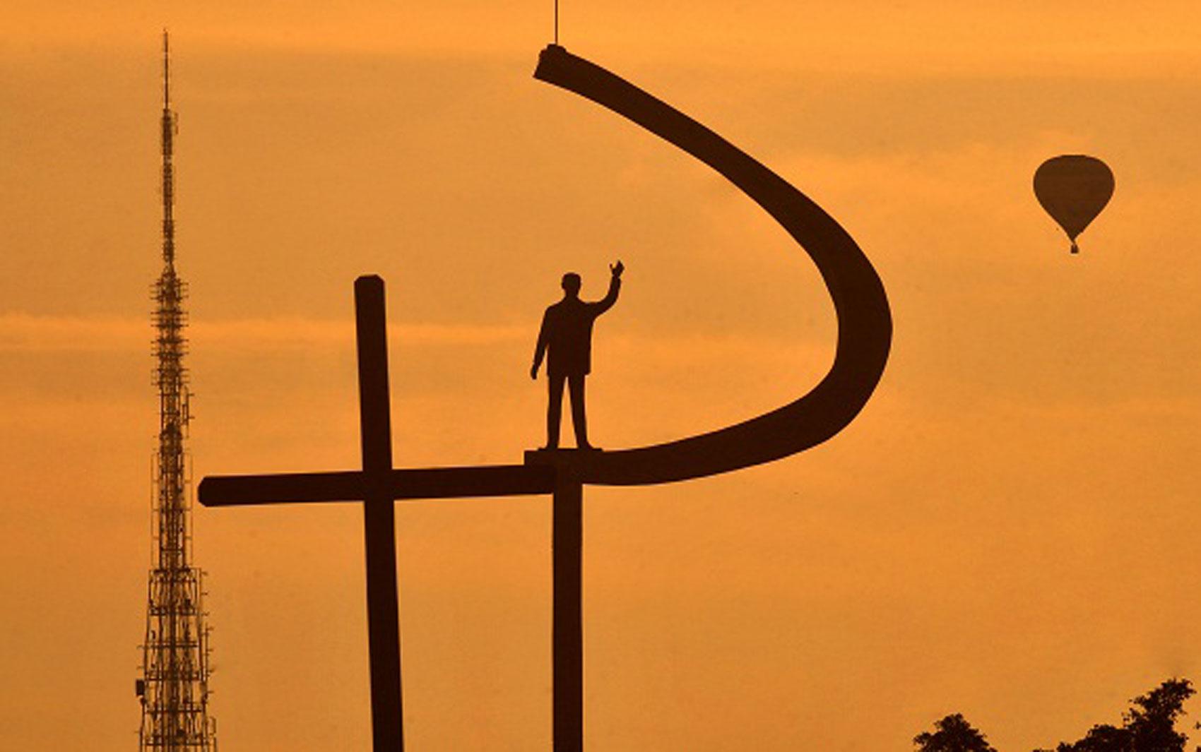 Céu de Brasília fotografado por internauta