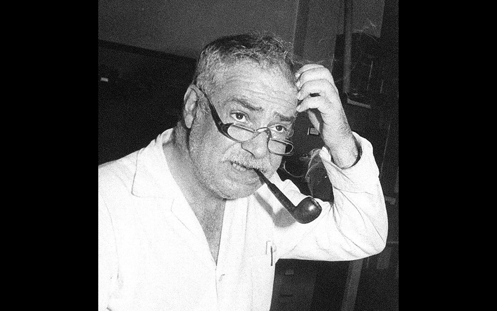 O compositor e zoólogo Paulo Vanzolini, em imagem de abril de 1984