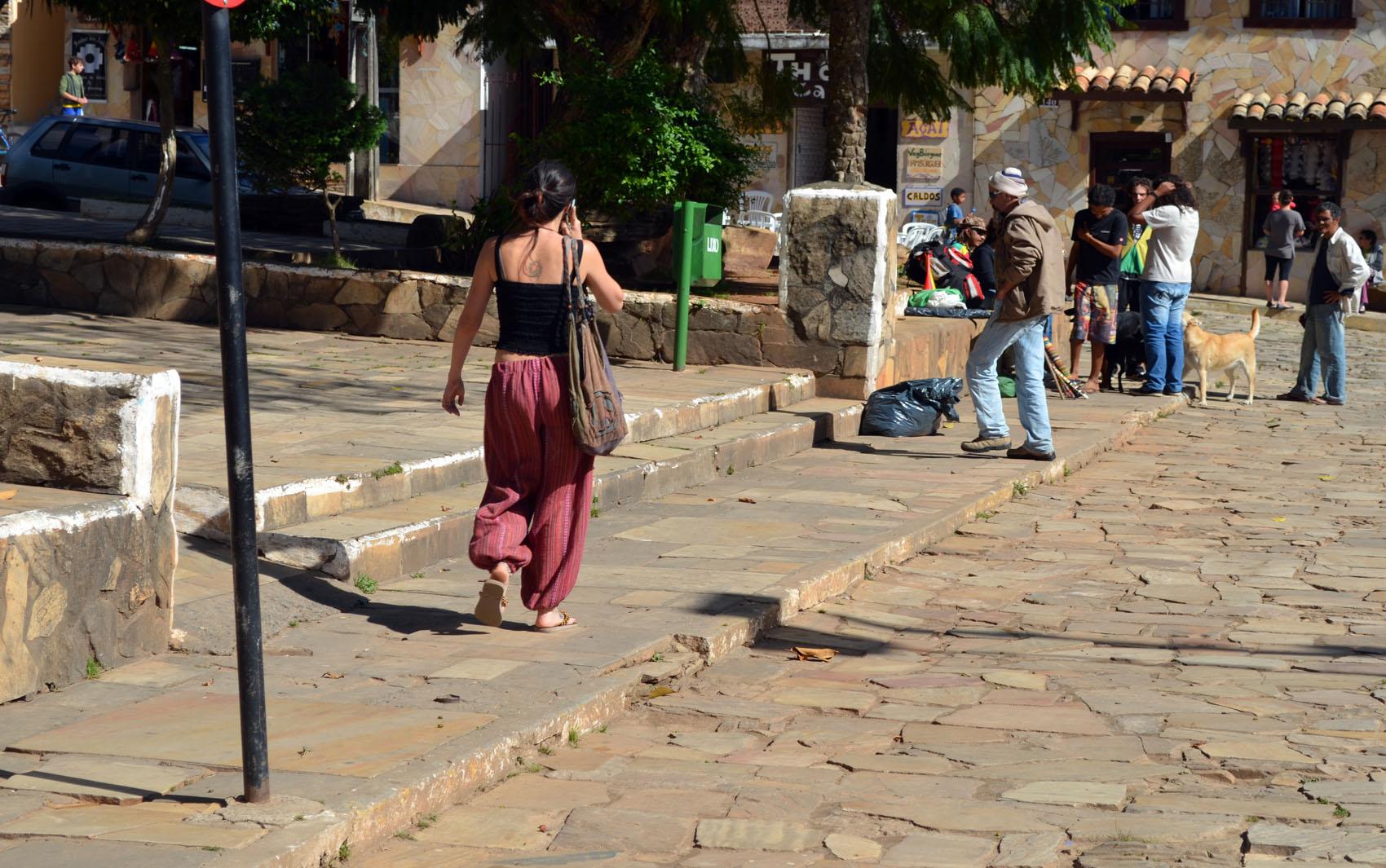 Estilo alternativo está presente nas ruas de São Tomé das Letras