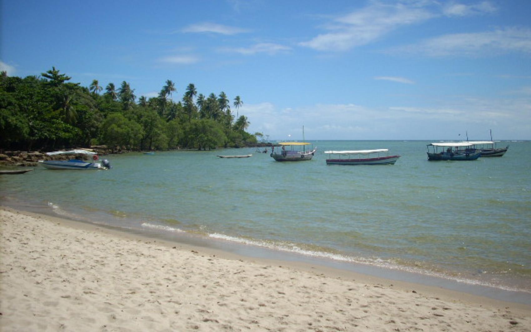 'Um dos recantos mais belos do litoral baiano', diz o leitor sobre a Ilha de Boipeba.