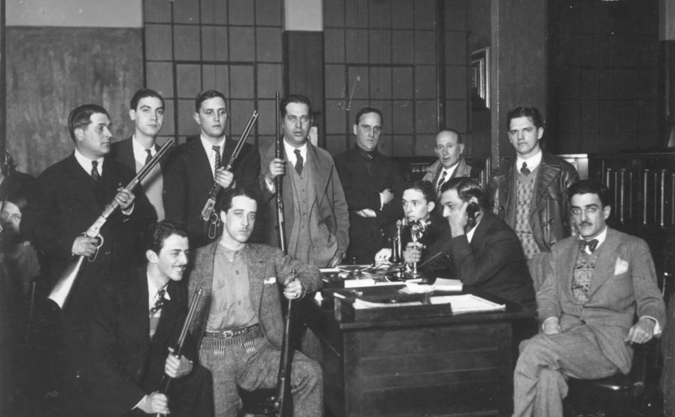 Participantes de revolução de 1932 pelo lado paulista