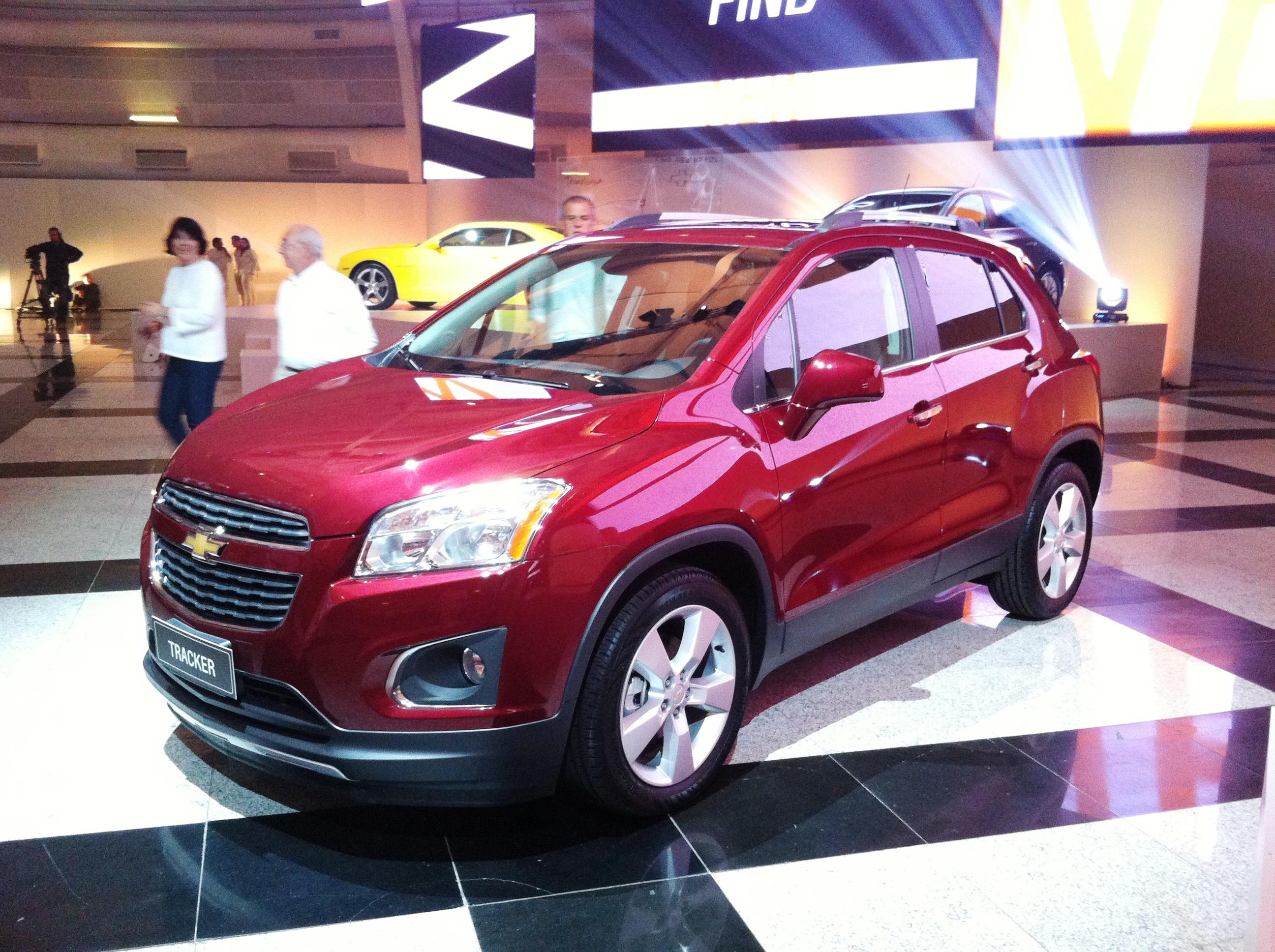 Chevrolet Tracker foi confirmado para o Brasil em evento da General Motors em São Paulo neste domingo (14)