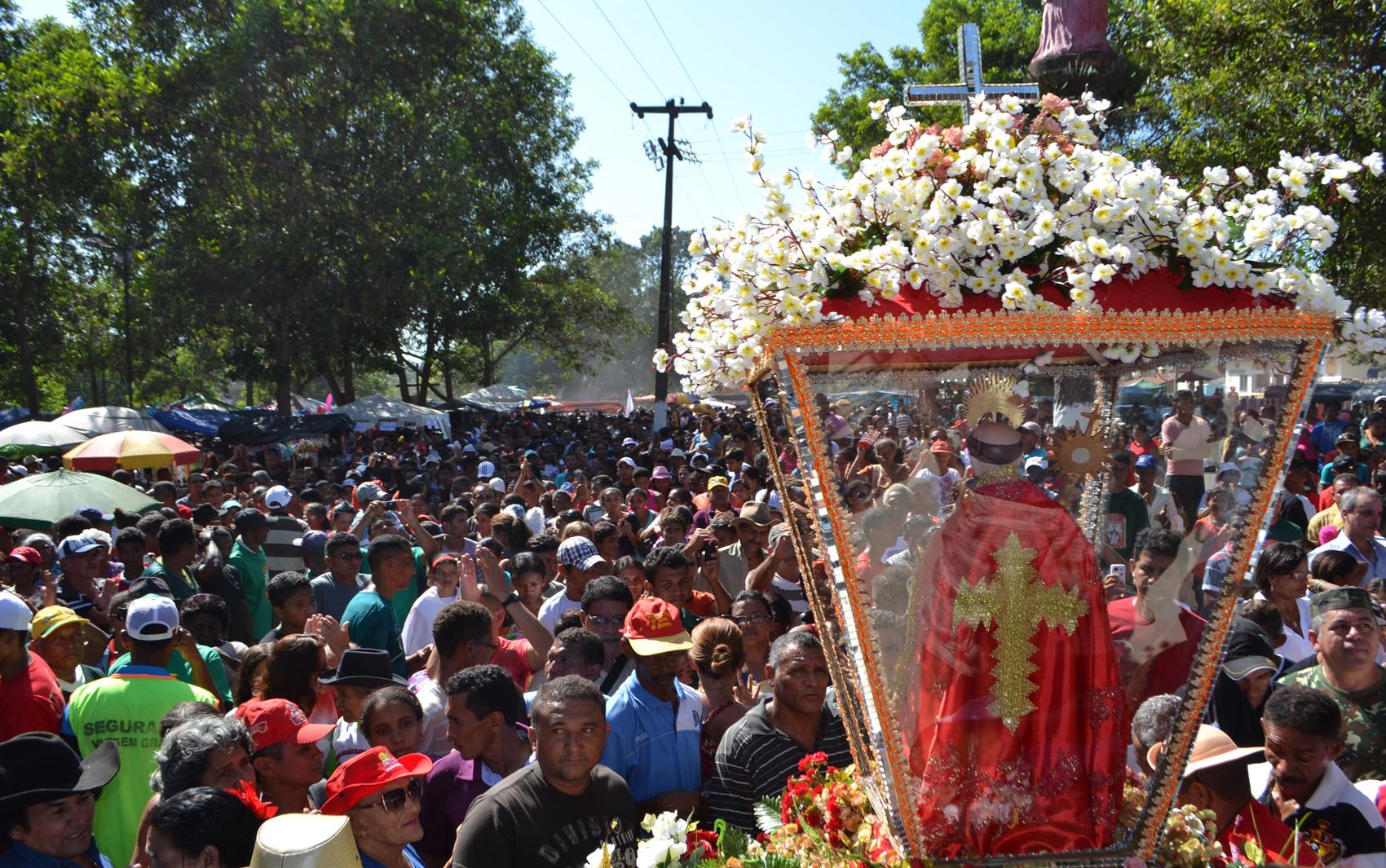 Festejo de São Raimundo dos Mulunduns reúne muitos fieis em Vargem Grande