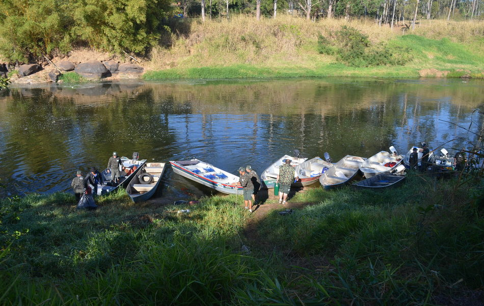 G1 Percorreu 150 km do Rio Piracicaba durante 3ª expedição realizada pelo Grude