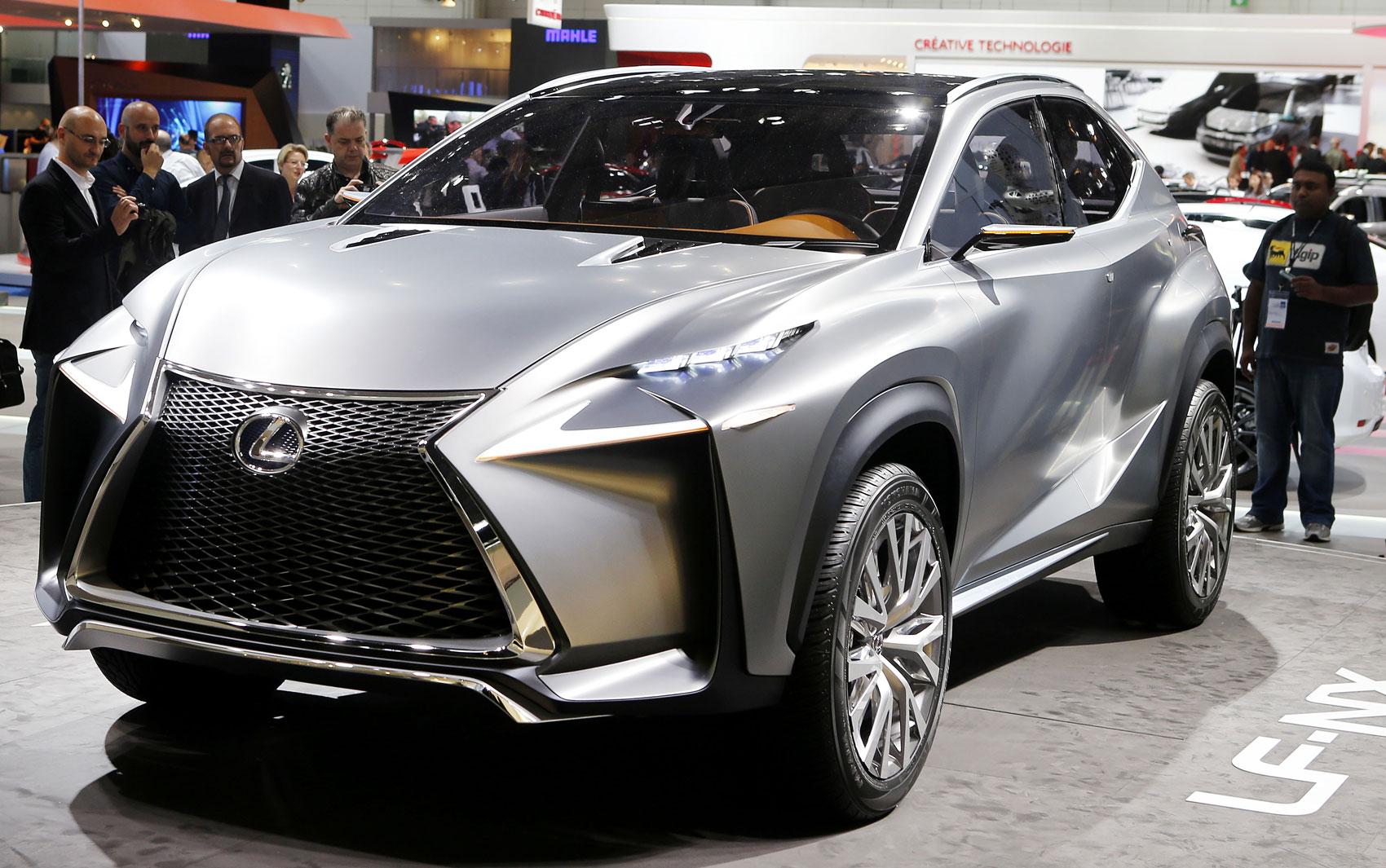 Lexus LF-NX marca a aposta em crossovers de luxo