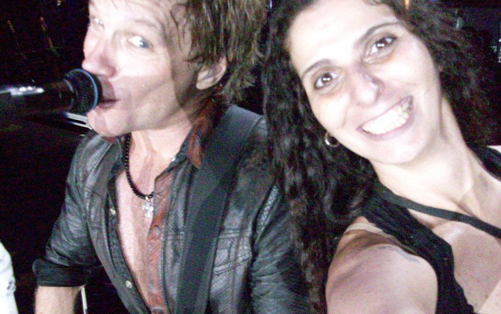 Rosana Guedes foi a 'sortuda' do show de Bon Jovi no 5º dia de - rosana6