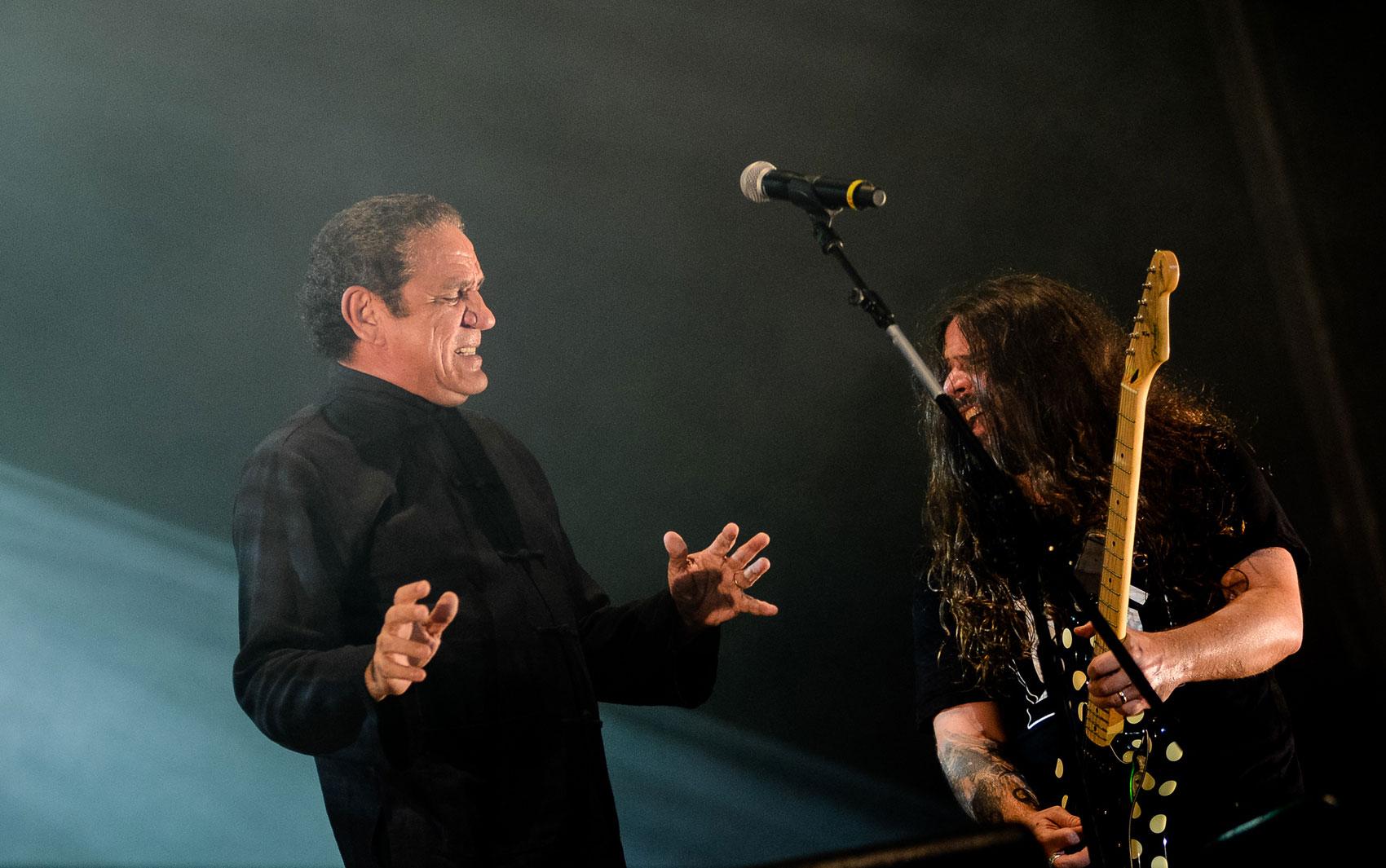 Sepultura e Zé Ramalho fizeram o último show no Palco Sunset neste Rock in Rio; apresentação começou às 19h30 deste domingo (22).