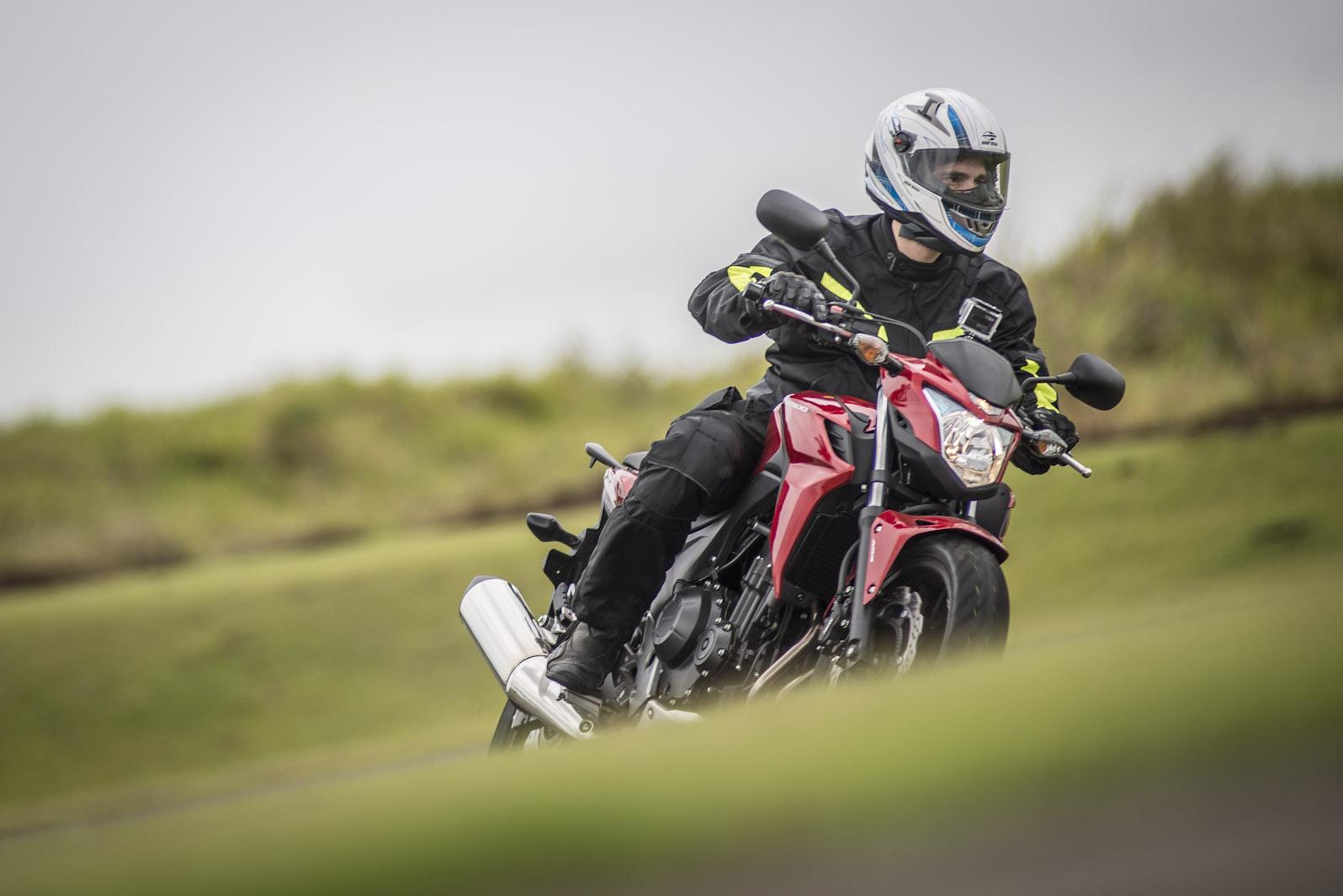 Honda CB 500F é o modelo de entrada da nova família da montadora japonesa