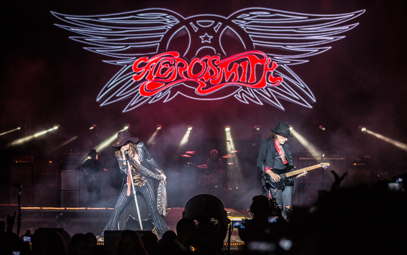 Aerosmith, no Monsters of Rock.