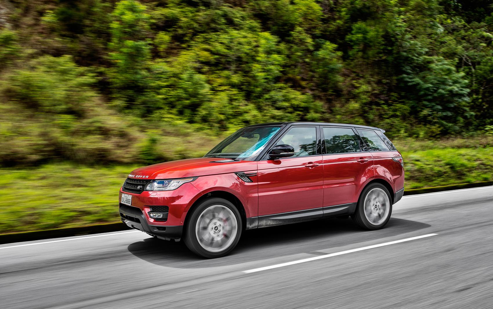 Novo Land Rover Range Rover Sport tem preços que vão de R$ 377,5 mil a R$ 539,9 mil