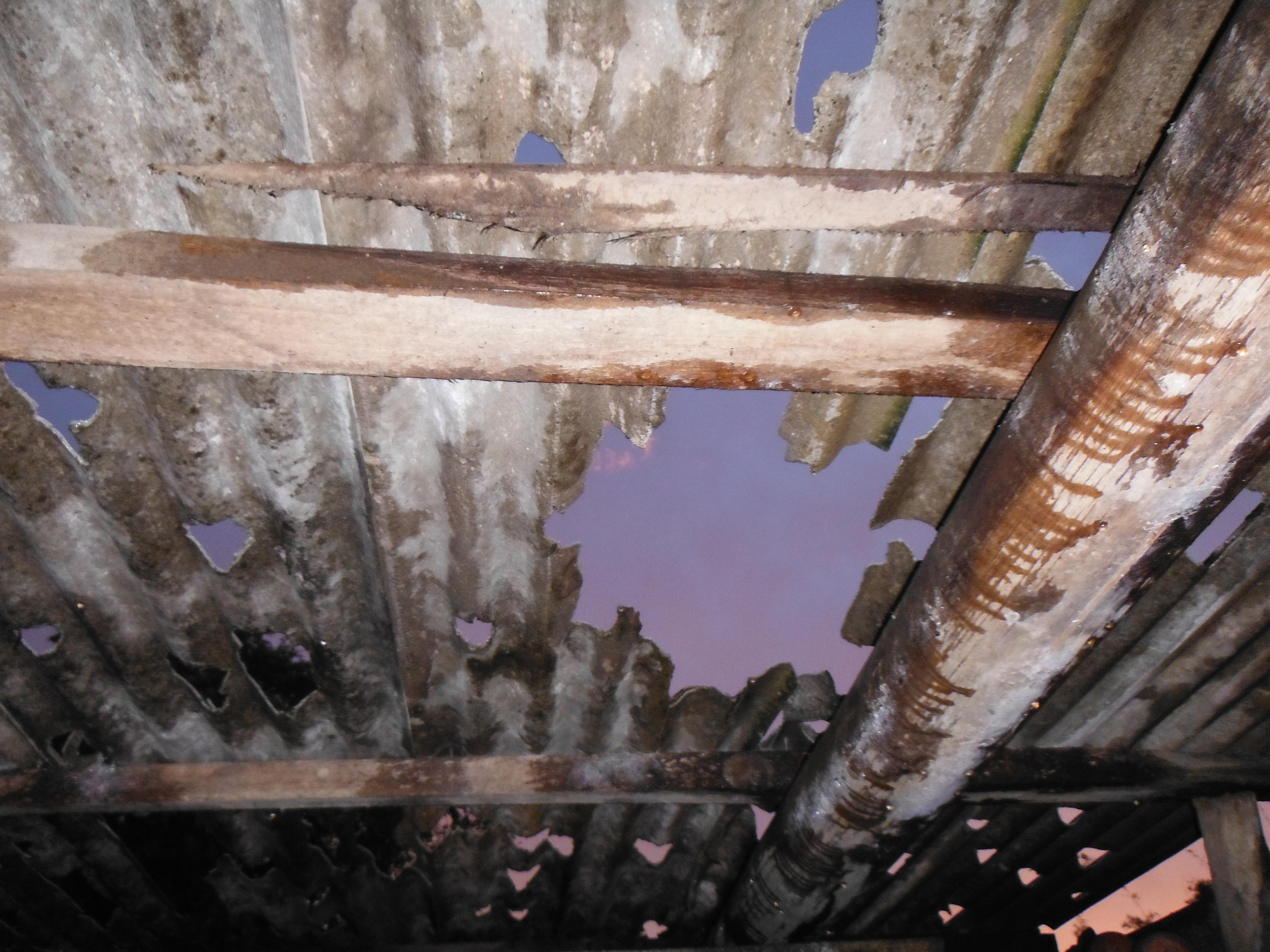 Granizo danificou residências de São Lourenço de Sul, RS