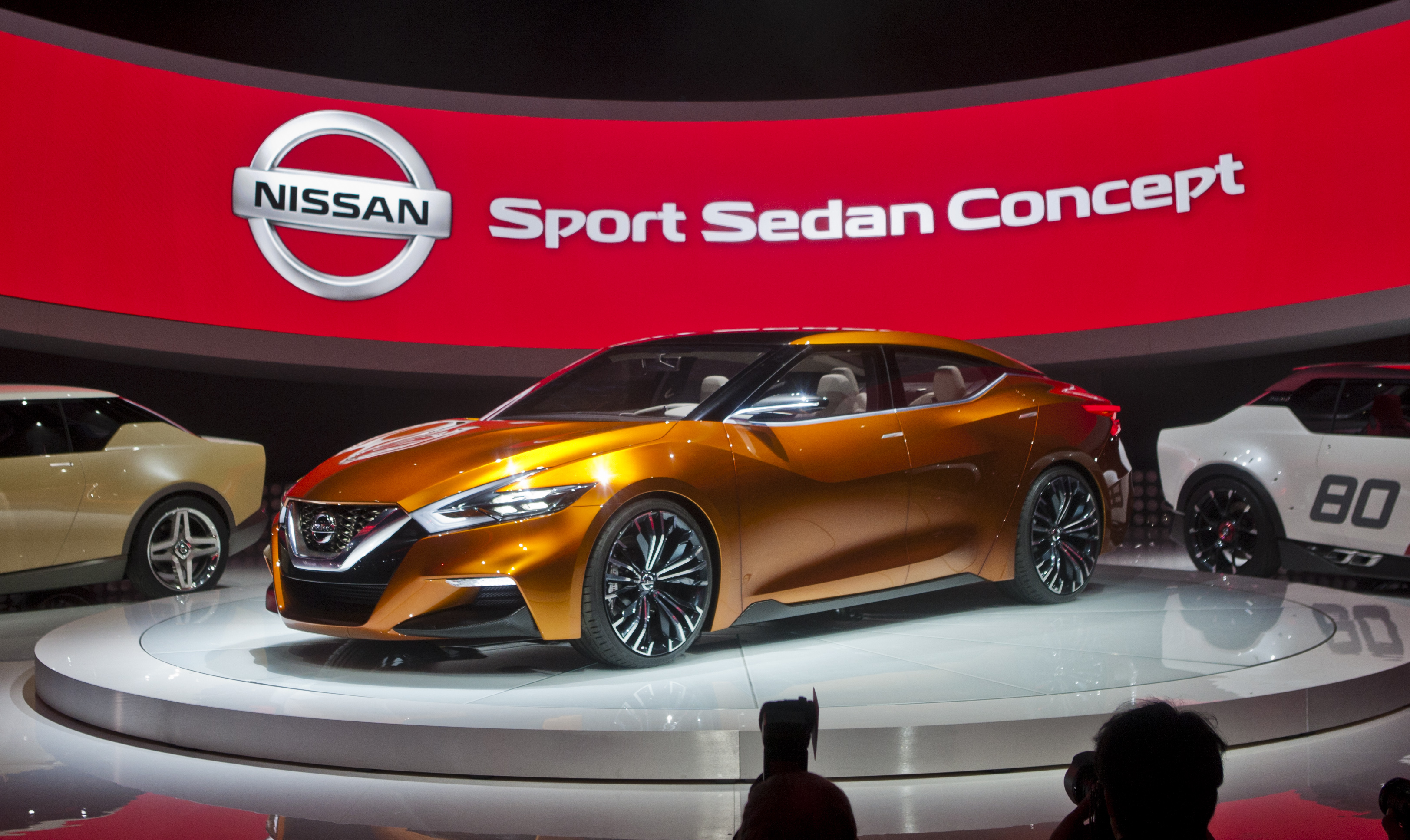 Nissan revelou o Sports Sedan no Salão de Detroit 2014