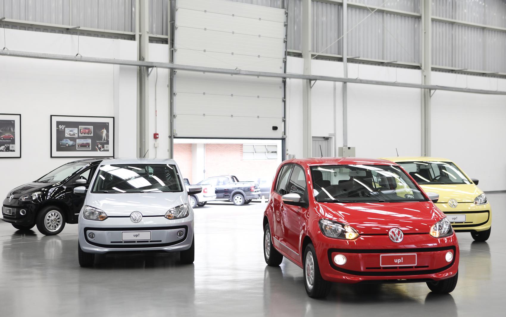 Volkswagen Up! é o novo modelo de entrada da marca no Brasil