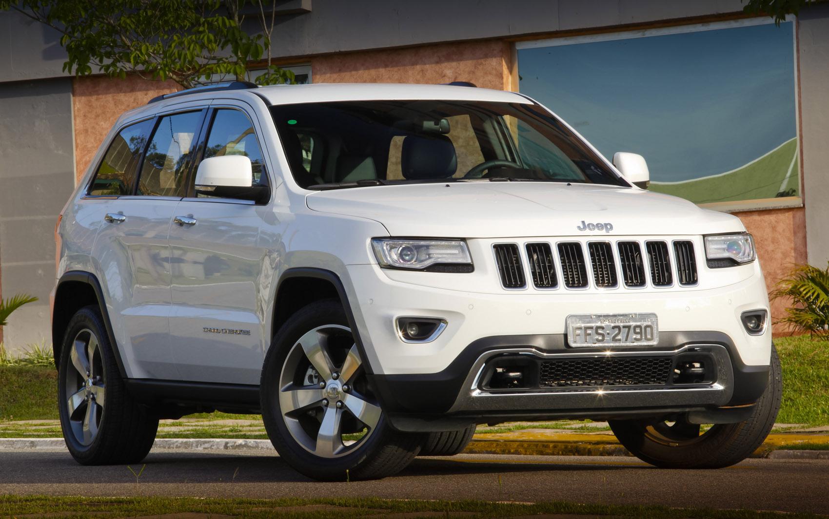 Jeep Grand Cherokee Limited sai por R$ 214,5 mil