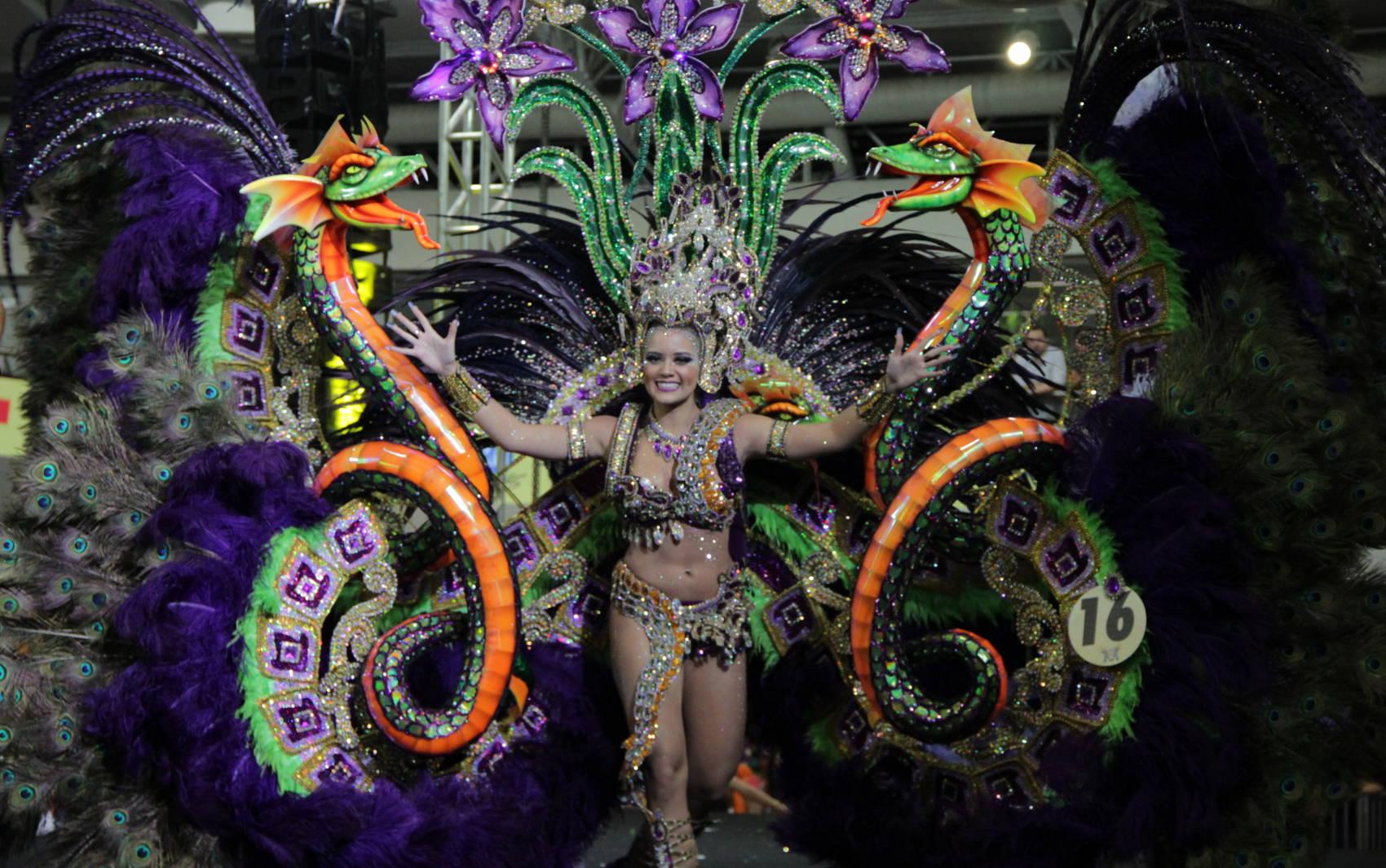 Ingrid Paola, do Grêmio Literário Português, é a Rainha das Rainhas do Carnaval 2014