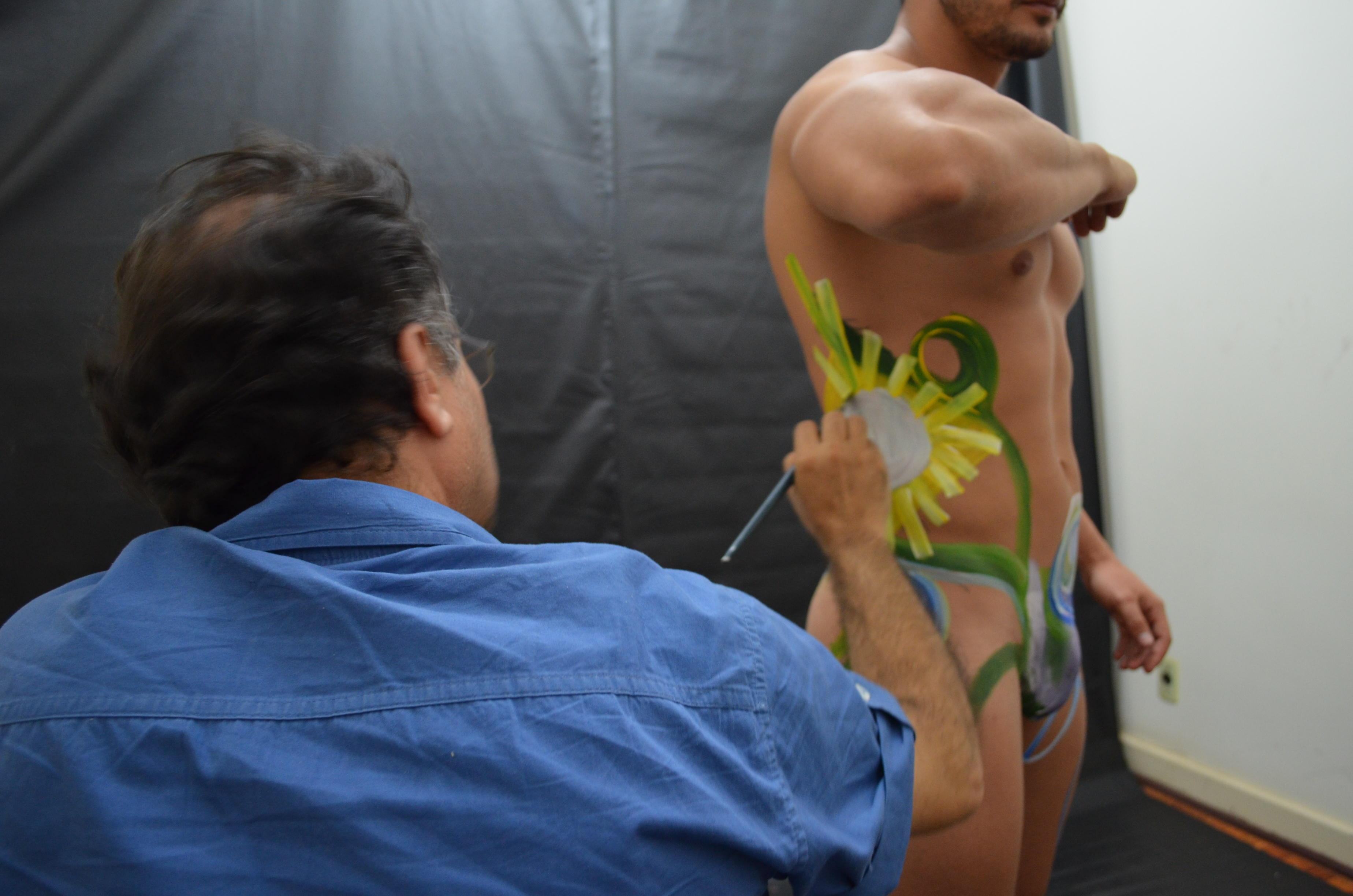 Videos de sexo de pintura corporal