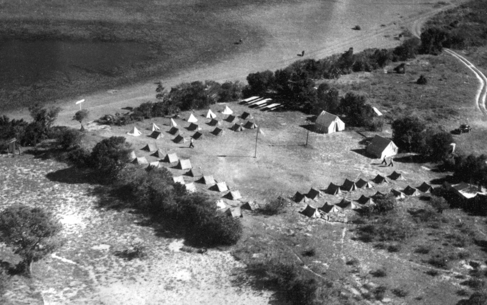Em busca do melhor vento, admiradores do planador montavam acampamento em diferentes cidades do RS